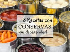 8 Recetas con conservas irresistibles! en Ideas para cocinar no te lo puedes perder!! Pincha en este enlace o en la foto para ver la publicación completa ahora!!