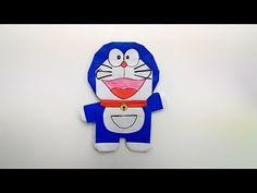 Origami Doraemon / พับกระดาษ โดราเอม่อน ドラえもん - YouTube