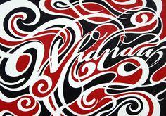 Shane Hansen : Whanau Sparkle Limited Edition - Clever Bastards: The best of New Zealand art design Nz Art, Art For Art Sake, Maori Symbols, Maori Designs, New Zealand Art, Maori Art, Kiwiana, Clever Design, Fonts