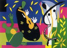 La tristeza del Rey. Henri Matisse.