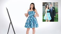 Ladylike from Buzzfeed try on their old prom dresses - Safiya