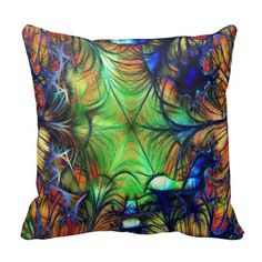Gorgeous Abstract Throw Pillow