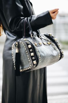 luxurious studded bag handbag from www.sophia.pt - portuguese vegan  accessories brand b4d4cfa6e1dd3