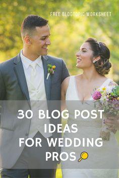 how to blog as a wedding professional, wedding vendor, wedding photographer or…