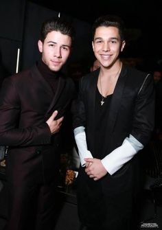 Austin and Nick ITS SO PERFECT <3