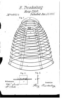 - Improvement in hoop-skirts 18th Century Dress, 19th Century, Civil War Dress, Hoop Dreams, Hoop Skirt, Second Empire, Historical Costume, Sewing Hacks, Textile Design