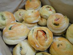 A trained chef, Aimee Christopher is passionate about making high quality flavoured breads. They are topped with local ingredients including thyme, rosemary, sage and basil grown by Aimee's Dad. Flat breads are finished off with island grown cherry tomatoes and onions. Rolls are glazed with local eggs. They are sold at the local produce market on St Mary's and can be made to order. Aimee's Flavoured Speciality Breads E. aimeechristopher@hotmail.com