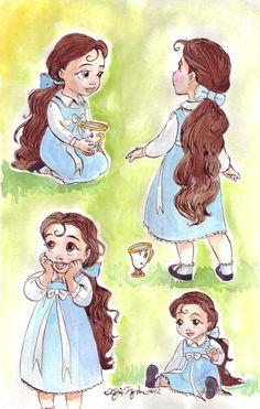 Toddler Belle :')