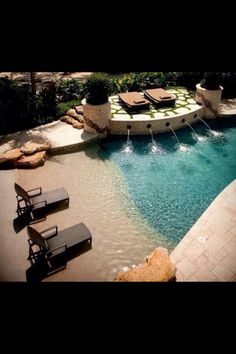 Beach themed pool  in love  #want