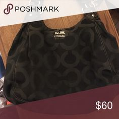 Coach purse Black coach purse Coach Bags Shoulder Bags