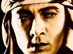 "Rudolph Valentino in ""The Sheik"""