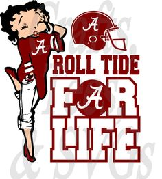 This item is unavailable Alabama Crimson Tide Logo, Crimson Tide Football, Alabama Football Funny, American Football, College Football, School Spirit Shirts, Roll Tide, Betty Boop, Svg File