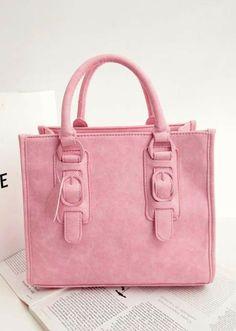 Morpheus Boutique  - Pink Street Leather Tote Bag Purse, CA$92.29 (http://www.morpheusboutique.com/bags-purses/pink-street-leather-tote-bag-purse/)