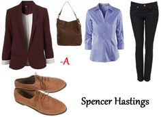 Style Crush - Pretty Little Liars Series - Spencer Hastings