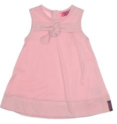 ZieZoo baby jurkje mouwloos lichtroze