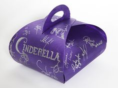 Charity Auction Cronut Box with the Cinderella the Musical cast signatures @Cinderella on Broadway