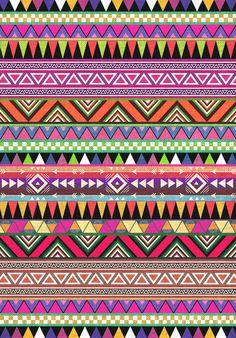 I  Aztec print