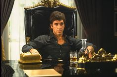 Scarface is a 1983 gangster film, a remake of the 1932 classic, directed by Brian De Palma staring Al Pacino in the role of a tempestuous Cuban emigrant, Tony Montana. Al Pacino, Frank Zappa, Quentin Tarantino, Streaming Movies, Hd Movies, Movies Online, Scarface Film, Baddies, Actresses