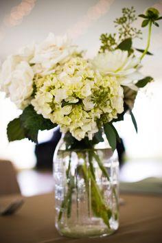 hydrangea Wedding Centerpieces | United with Love - Fresh Inspiration For Washington DC-Area Weddings