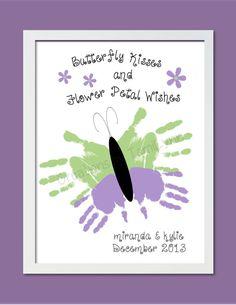 Butterfly Handprint Art