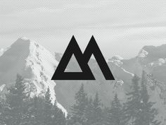love. love the bold logo and i have a thing for snow capped mountains.