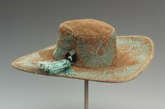 Hat | American; New York | 1920s | straw, silk | Museum of Fine Arts, Boston | Accession #: 1990.277