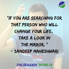Sandeep Maheshwari Motivational Quotes and Wiki - DigiDaddy World Inspirational Quotes About Success, Motivational Thoughts, Best Motivational Quotes, Success Quotes, Best Quotes, Good Thoughts Quotes, Good Life Quotes, True Quotes, Quotes To Live By