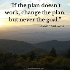Unknown - adjust the plan to meet your #Goal