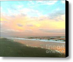 Expires Today at 5:00! Limited Time Promotion: The Evening Sky - Evening Sunset Stretched Canvas Print