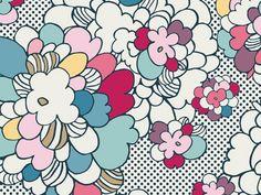 Art Gallery Fabrics Pop Art Springblossom Stretch Jersey Knit Dress Fabric | Fabric | Dress Fabrics | Minerva Crafts