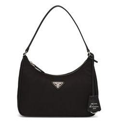 Bag Prada, Prada Handbags, Leather Handbags, Coach Handbags, Luxury Purses, Luxury Bags, Nylon Bag, Vintage Bags, Cloth Bags