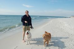 Your dogs should join you on your next beach vacation! Cape San Blas is the #1 pet friendly beach in the USA! Look for the paw print symbol for pet-friendly accommodations and get started booking your next pup-friendly vacation!