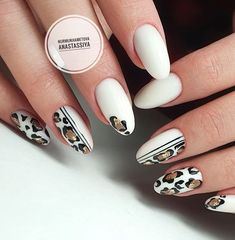 - Care - Skin care , beauty ideas and skin care tips Tiger Nails, Zebra Nails, Leopard Nails, Pink Nails, 3d Nails, Cute Nails, Pretty Nails, Gypsy Nails, Gucci Nails