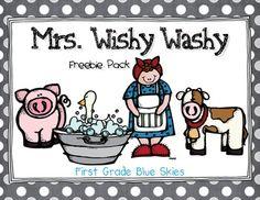 Mrs Wishy Washy Freebie Pack