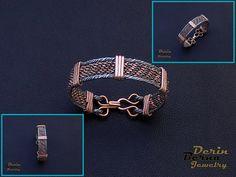 Free Shipping Men copper cuff bracelet,Copper Wire Men Bracelete,Wire Wrapped Bracelete Men Accesory,Men Bangle Bracelet,Men Cuff Bracelet by BernaDerinJewelry on Etsy