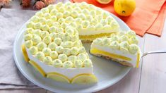TORTA FREDDA AL LIMONE | Fatto in casa da Benedetta Biscotti, Cheesecakes, Yogurt, Torte Cake, Pavlova, Italian Recipes, Low Carb, Cooking Recipes, Pie