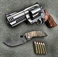 500 Smith and Wesson Magnum revolver, guns, weapons, self defense, protection…