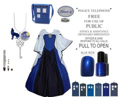 """Concepting Tardis Costume"" by jkivlehen on Polyvore"