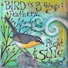 ©2011 Vickie Hallmark - Feathers, Flight & Song