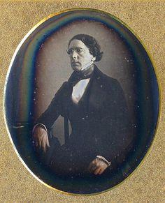 "Daguerreotype: Edward White, ""Man with Dark Glasses,""  c. 1839 - 1842    http://www.finedags.com/dating/datingdags2.shtm"