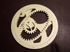 Do you like weird gears? Wooden gears? Do you have a CNC router? CNCCookbook CNC Blog