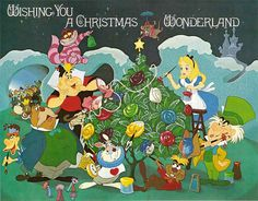 Disney Alice in Wonderland Christmas Cover by coconut wireless, via Flickr