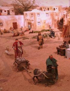 Ditta di Paese ha usato come modelli gli stessi organizzatori per l'apprezzatissima Natività del chiostro di San Francesco
