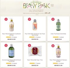 Take Up to 50% Off at L'OCCITANE!