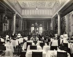 Shepheard's Hotel's dining room, Cairo. Where Sinclair crossed the line.. http://www.amazon.com/dp/B00UNZ3C3Y