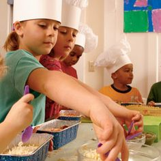 kids cooking party @ andrea minor dubois