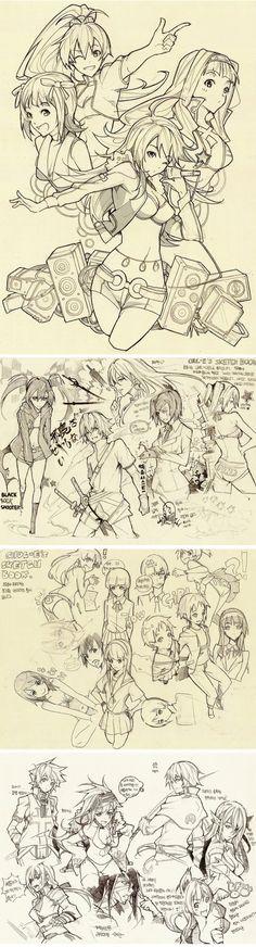 Sketch 2 by Chul-e (Blog.Naver)