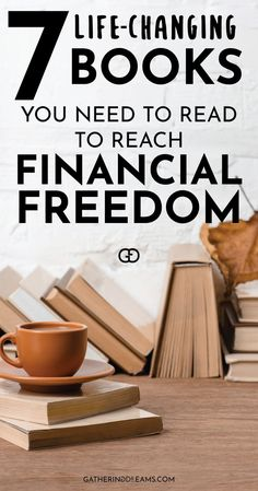 The best inspirational books to read to reach financial freedom and retire young! Learn how to make money work for you with passive income. These books will blow your mind! Ways To Save Money, Money Tips, Money Saving Tips, How To Make Money, Inspirational Books To Read, Preparing For Retirement, Household Budget, Budgeting Worksheets, Money Saving Challenge