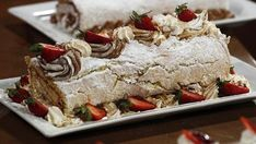 Chefs, Deserts, Cake, Food, Gastronomia, Blancmange, Powdered Sugar, Kuchen, Essen