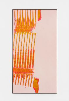 Tuba Auerbach Grain - Meander Gate 2018 Acrylic on canvas / wooden stretcher and metal frame 90 x 48 x 2 inches x x cm Tauba Auerbach, Contemporary Art, It Works, Abstract Art, Graphic Design, Art Prints, Wall Art, Drawings, Artwork